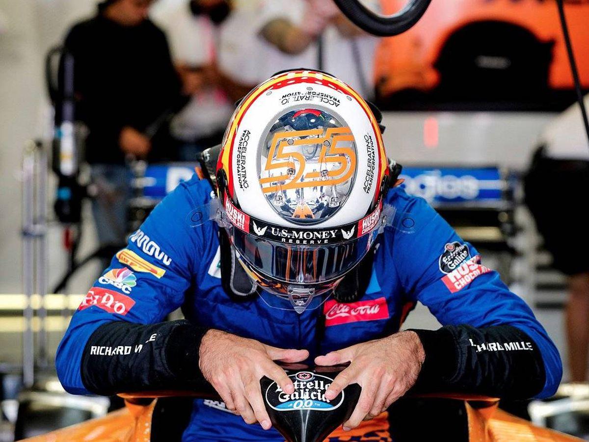 Foto: Carlos Sainz corre el peligro en estas dos últimas carreras de perder la séptima posición, pero también cuenta con opciones para ser sexto final
