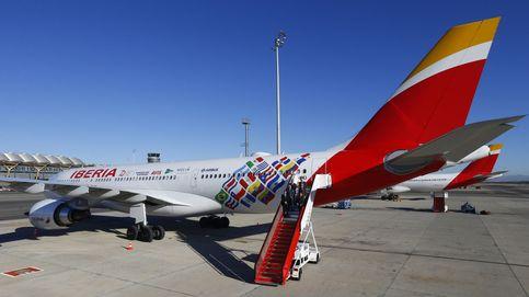 Iberia vuela a Buenos Aires con un avión vinilado por sus 70 años en Latam