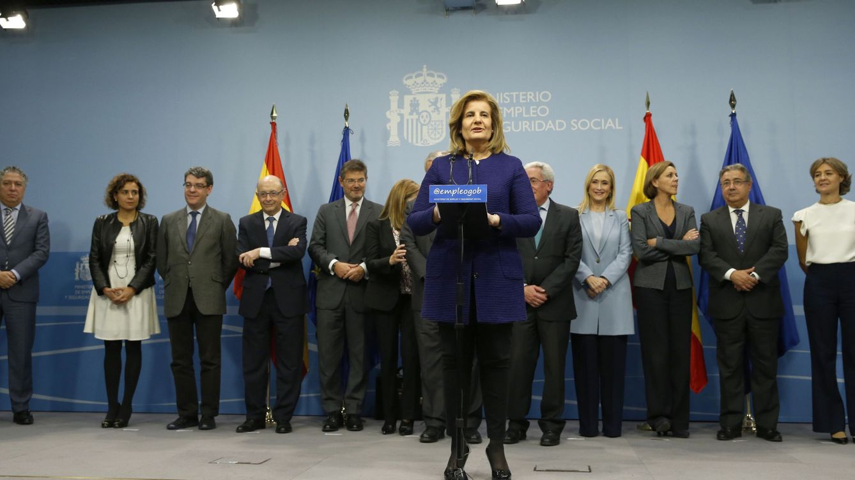 Báñez buscará un pacto de Estado para salir del trabajo a las 18:00 horas