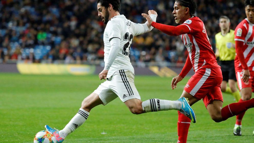 Foto: Partido de ida entre el Real Madrid y el Girona. (Efe)