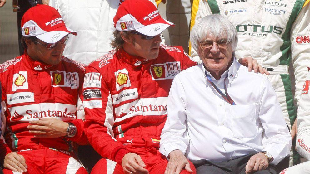 Adiós a Bernie Ecclestone, el vendedor de coches de segunda mano