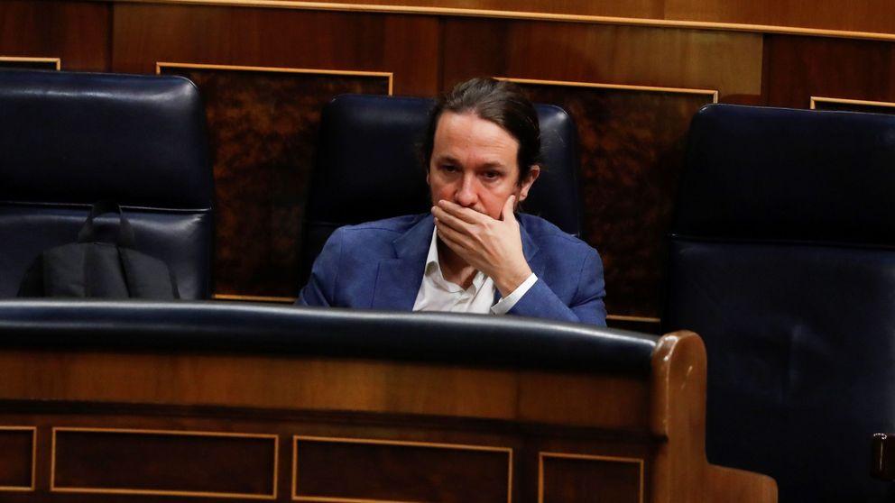 Iglesias acusa a la derecha del berrinche de intentar influir en los poderes del Estado