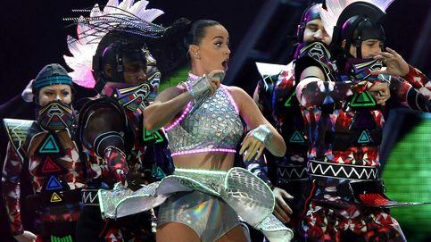 Katy Perry sacó su garra de tigre en Barcelona