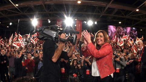 González, Zapatero, Guerra, Bono, Chacón... los socialistas que han acompañado a Susana Díaz