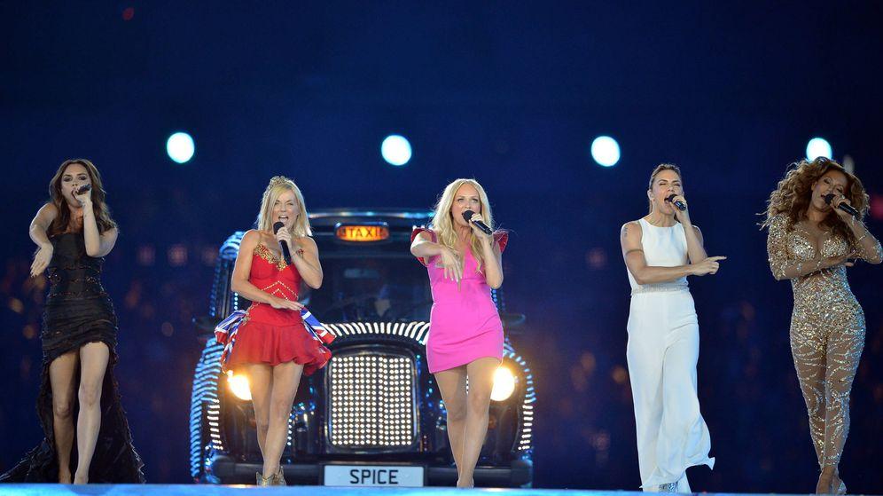 Foto: Spice Girls, en los Juegos Olímpicos de 2012. (Getty)
