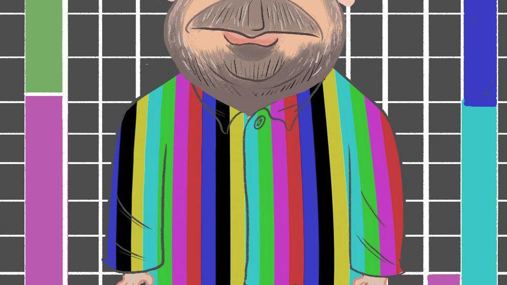 El presentador con el pijama de rayas