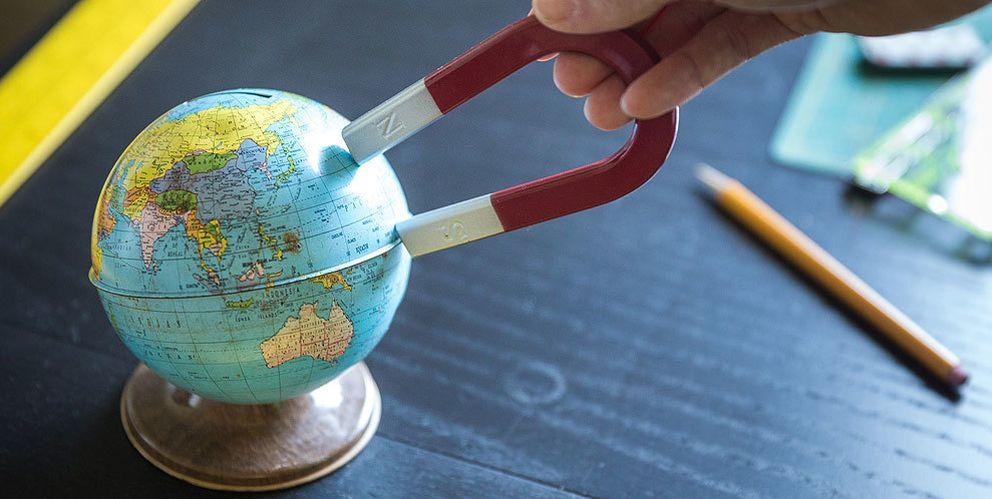Foto: ¿Perdemos el norte? Qué pasa cuando los polos magnéticos de la Tierra se invierten