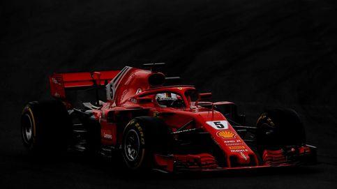 Vettel es el más rápido del segundo día de F1, con McLaren sin salir por la tarde