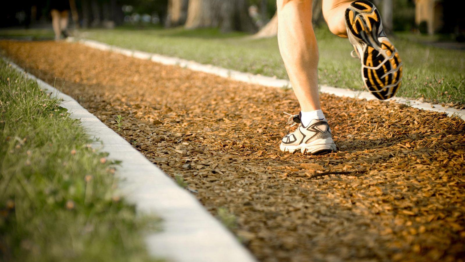 persona correindo