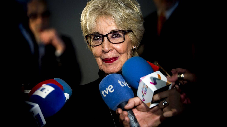 Concha Velasco atiende a la prensa en Valladolid. (Getty)