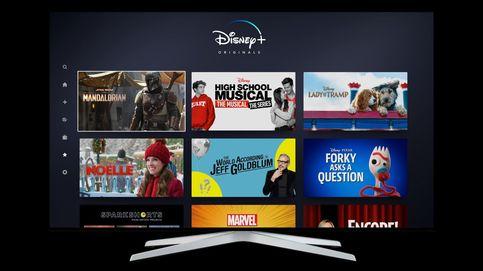 Disney+ convence a Wall St: 10M de usuarios en un día, sube un 7% y Netflix en rojo
