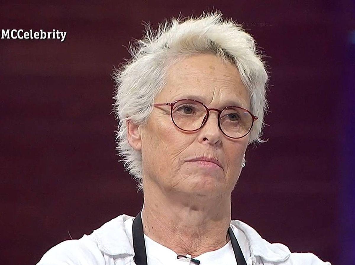Foto: Lucía Bosé, en 'Masterchef Celebrity'. (TVE)