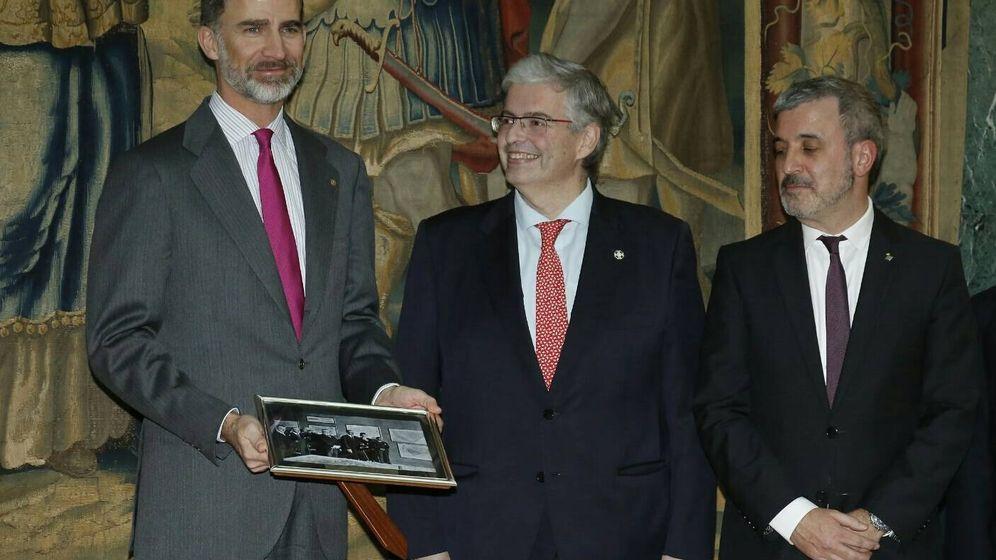 Foto: Felipe VI junto al delegado Jordi Cornet (EC)