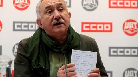 Los sindicatos visitan a Junqueras para saber de primera mano la opinión de ERC