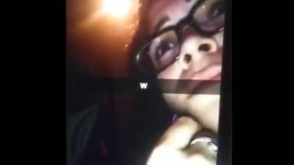 Foto: Amanda Alvear, en el momento en que comenzaron los disparos en el club Pulse