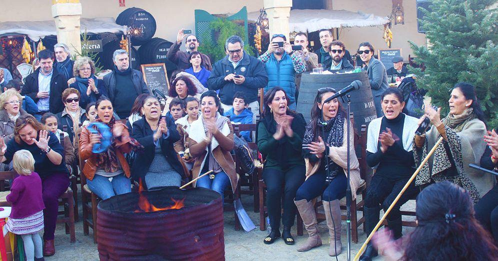 Foto: Zambomba típica de Jerez de la Frontera.