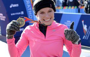 ¿Arriesgó la número ocho del tenis mundial corriendo el Maratón de NY?