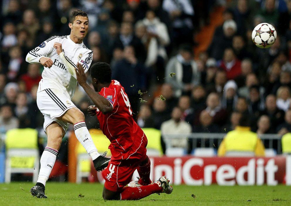 Foto: El delantero portugués no estuvo acertado contra el Liverpool (EFE)