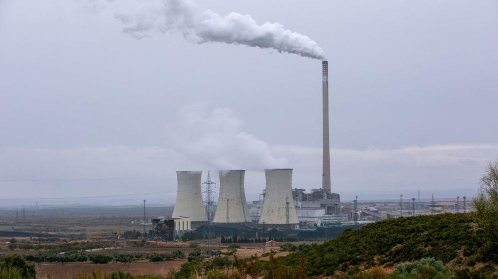 Foto: Central térmica de Endesa en Teruel. (EFE)