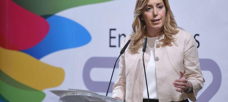 Foto:  presidenta de la Junta de Andalucía, Susana Díaz (Efe)