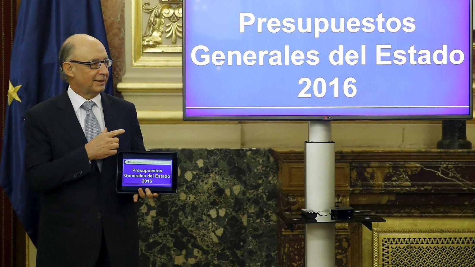 Foto: El ministro de Hacienda y Administraciones Públicas, Cristóbal Montoro. (REUTERS)