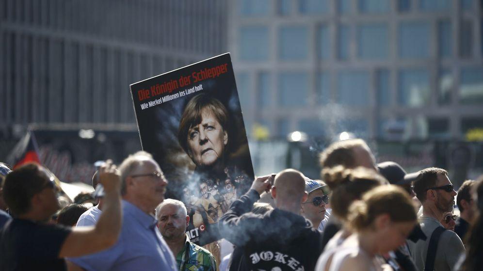 Foto: Participantes de la manifiestación en Berlín. (Reuters)