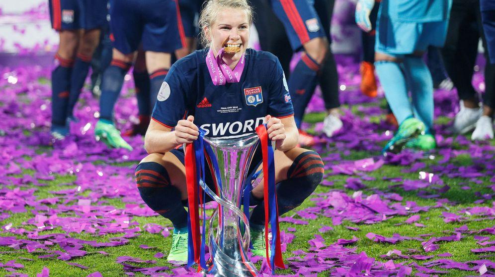 Foto: Ada Hegerberg jugará la final de la Champions el 18 de mayo contra el Barcelona. (Reuters)