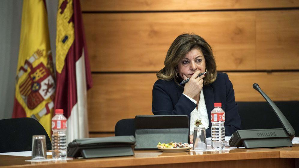 Foto: Carmen Amores, presidenta de la Forta, en una imagen de archivo. (EFE)