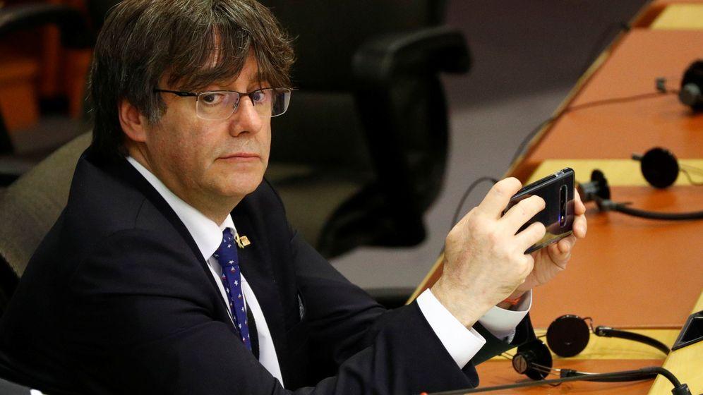 Foto: Carles Puigdemont, en el Parlamento Europeo. (Reuters)