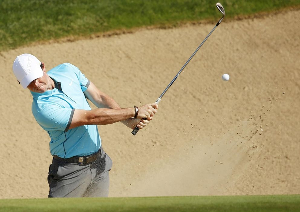 Foto: Mcilroy, durante el Abu Dhabi Golf Championship (Reuters)