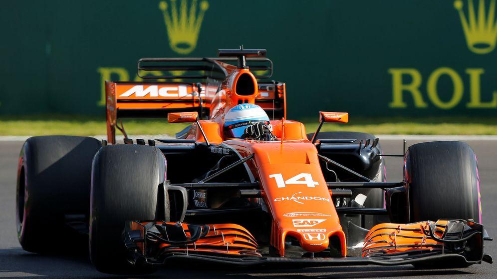 Foto: Fernando Alonso, este domingo en México. (Reuters)
