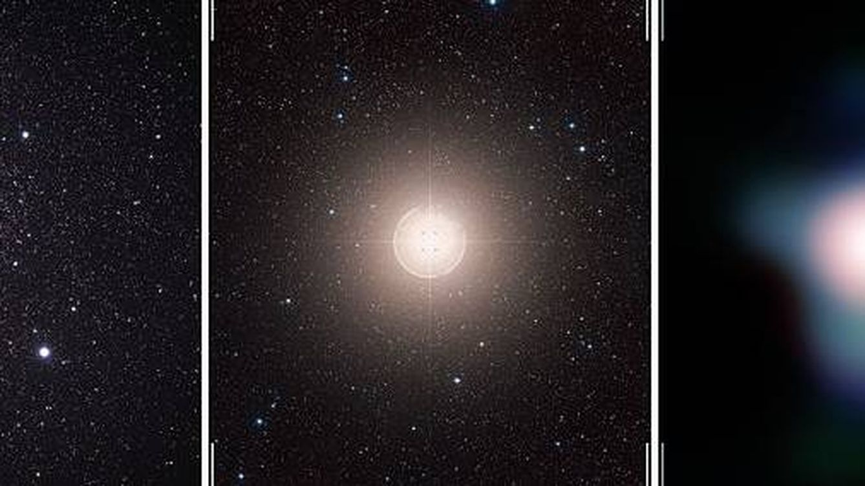 Una de las estrellas más brillantes actúa de manera extraña y podría explotar