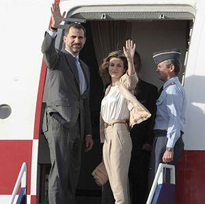 Felipe y Letizia utilizan nombres ficticios para viajar