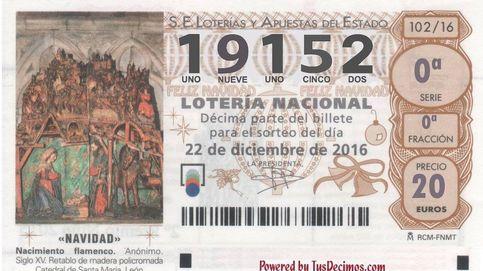 La cuarta tabla de la Lotería deja un segundo quinto premio para el 19.152