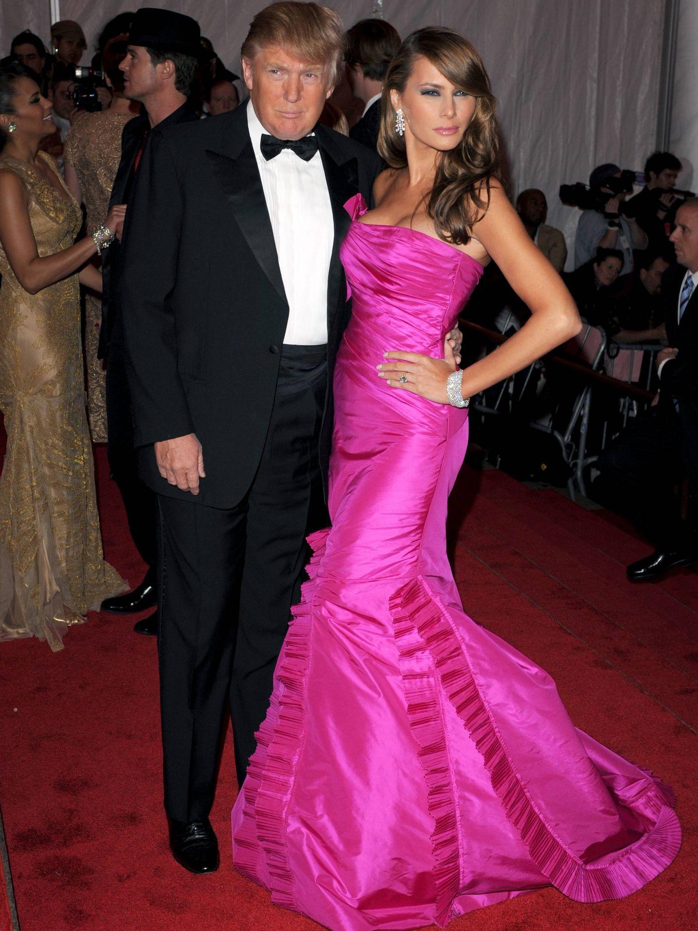 Donald Trump y Melania Trump. (Cordon Press)