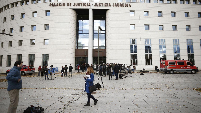 Lugar donde se celebra el juicio. (EFE)