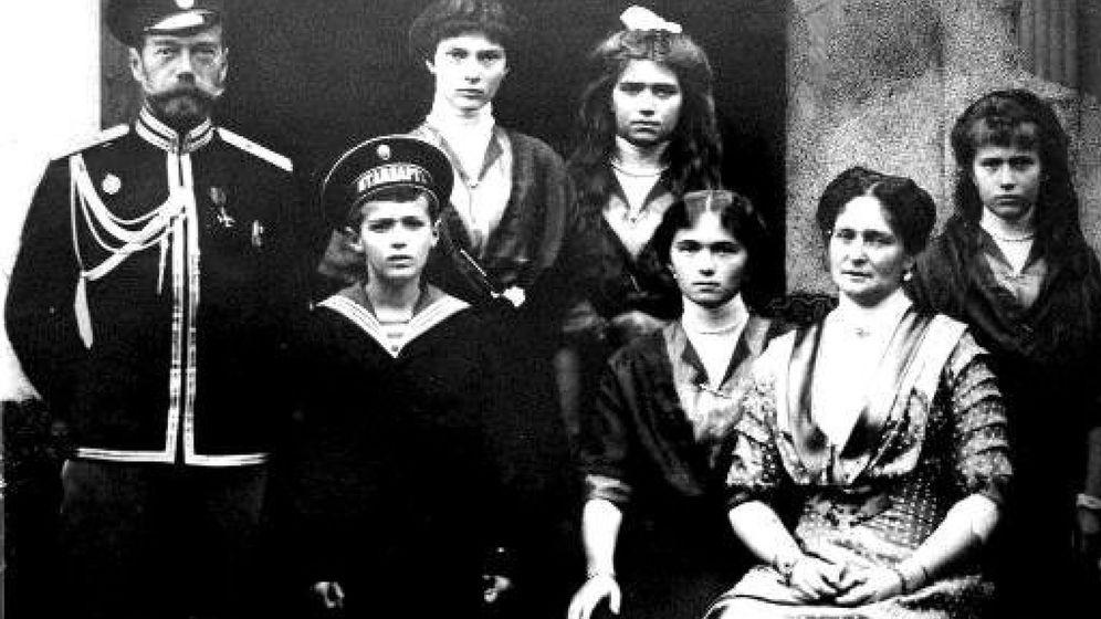 Foto: Nicolás II, el último zar de Rusia, con su familia