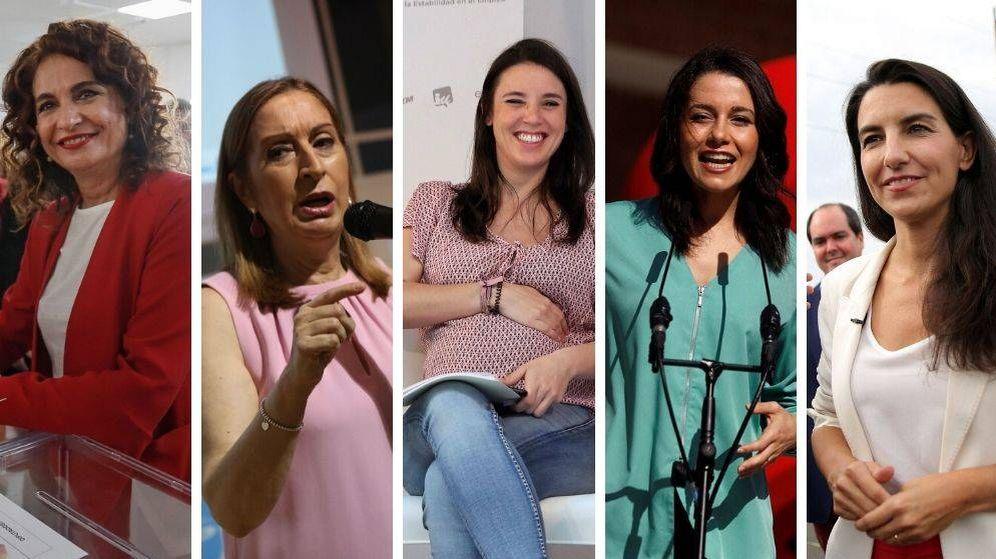 Foto: Las cinco mujeres que irán al debate electoral de LaSexta