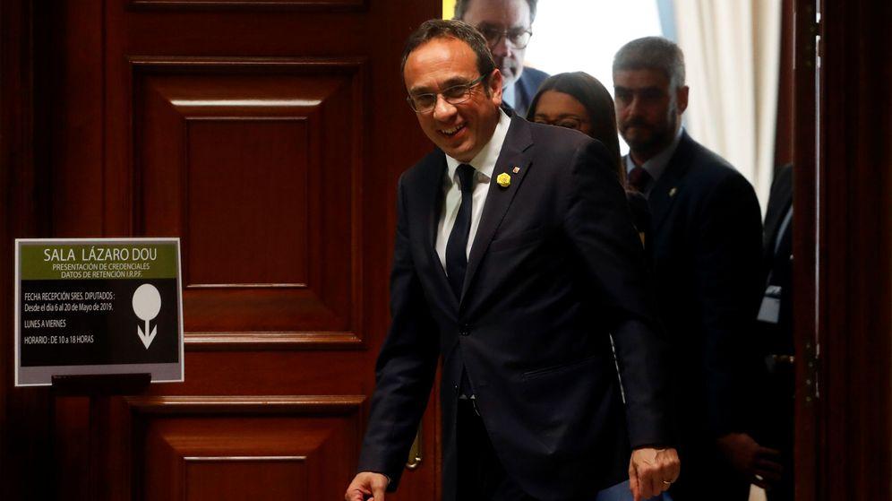Foto: Josep Rull, en el Congreso. (Reuters)