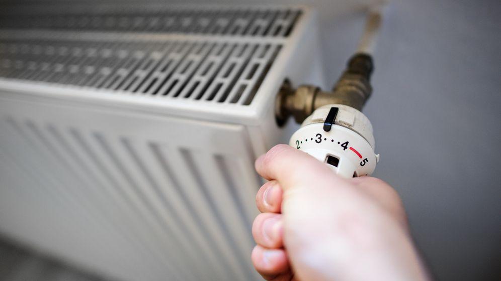Foto: Recibo de la calefacción para saber cuánto consume cada habitación / Foto: Corbis