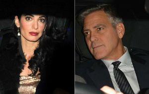 George Clooney y Amal Alamuddin celebran otro 'fiestón' en Londres