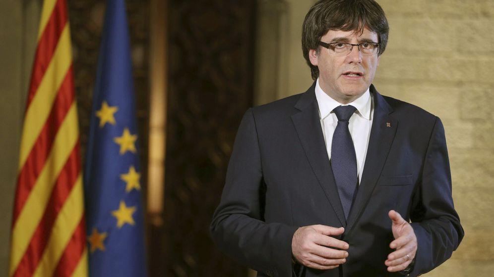Foto: El president de la Generalitat, Carles Puigdemont. (REUTERS)
