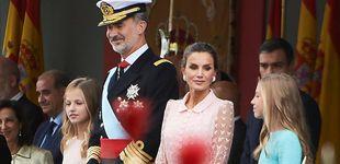 Post de Felipe y Letizia: así se fraguó (y se les ocultó) la sorpresa de Ainhoa Arteta en el 12-O