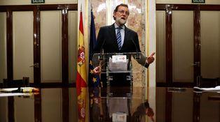 Rajoy, antes dimitido que censurado