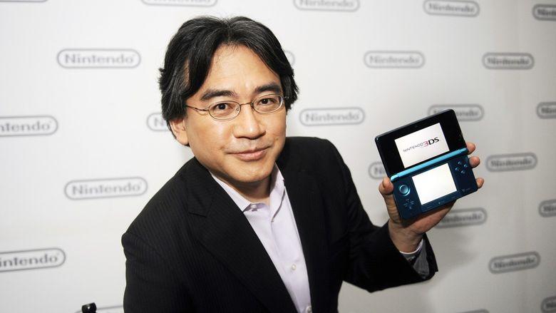 Foto: Satoru Iwata, presidente de Nintendo