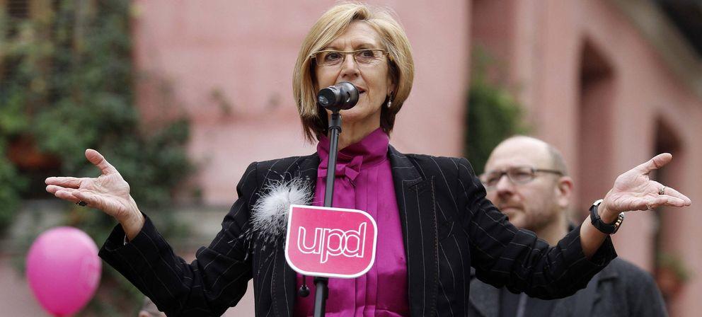 Rosa Díez, líder de UPyD. (Efe)