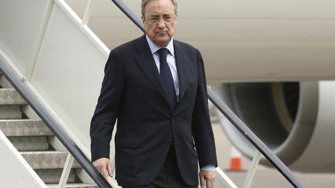 Reunión secreta entre Florentino y Fainé en Mallorca para negociar la OPA sobre Abertis