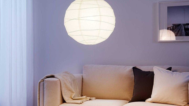 Despierta tu imaginación con esta lámpara de Ikea. (Cortesía)