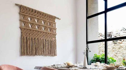 Macramé: la decoración artesanal que le da a tu hogar un toque bohemio