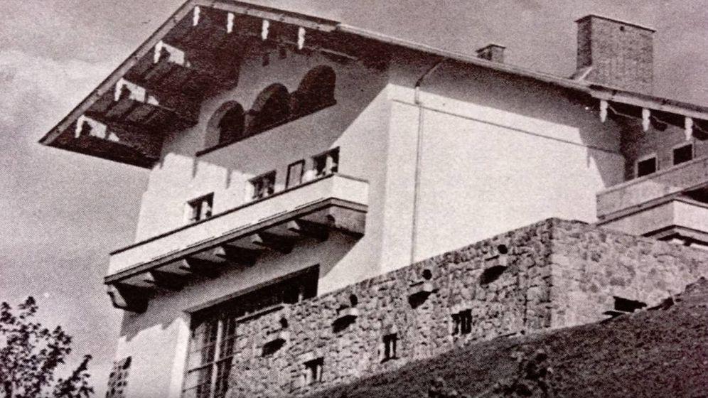 Foto: El Berghof de Hitler, antes de ser bombardeado por las fuerzas aliadas.